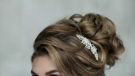 Ідеї для весільних зачісок на середні волосся без фати