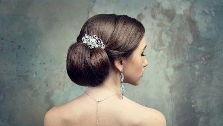 Зібрані зачіски на весілля: красиві високі укладання з фатою, діадемою і короною