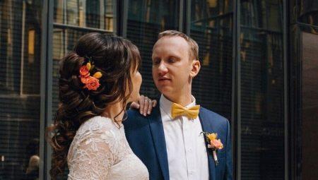 Оригінальні варіанти весільних зачісок з хвостом