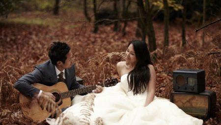 Цікаві ідеї для весільних фотосесій в різні пори року