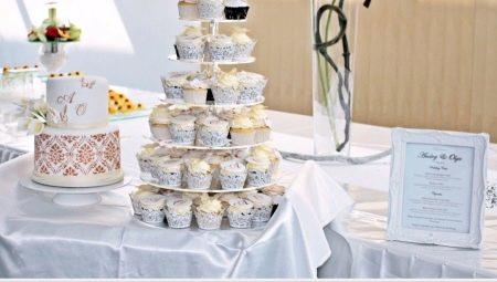 Весільний торт з капкейками: оригінальні ідеї та поради з вибору