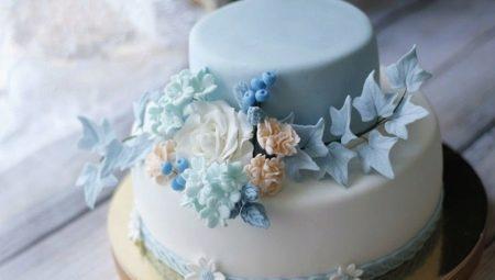 Весільний двох'ярусний торт: оригінальні ідеї та особливості вибору