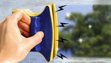 Вибираємо магнітну щітку для миття вікон