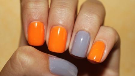 Оранжевий манікюр: стильні ідеї і техніки